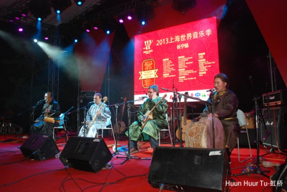 Huun-Huur-Tu at Shanghai World Music Festival 2013